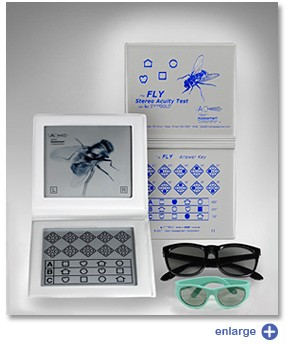 Fly Stereopsis Test with LEA Symbols